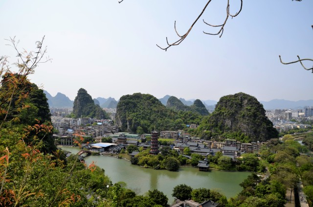 Urlaubsreise Guilin