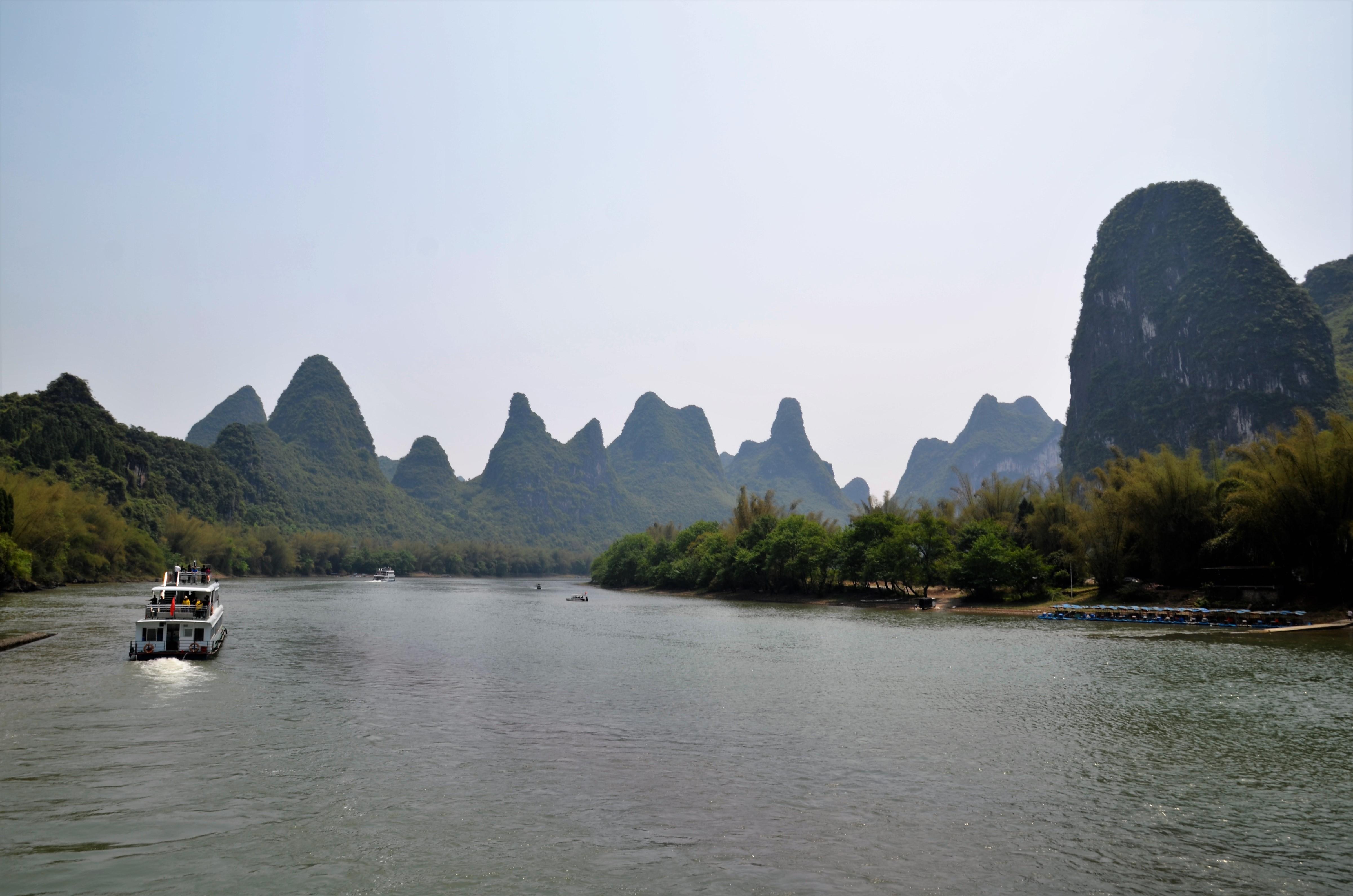 Li-River Guilin Urlaubsreise China