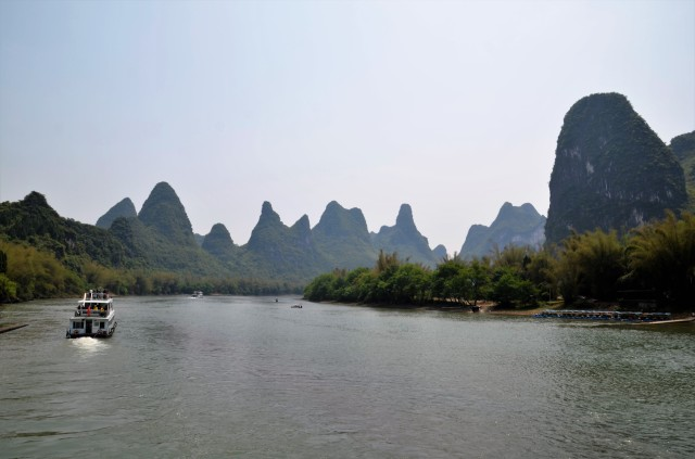 Li-River Guilin Urlaubsreise China