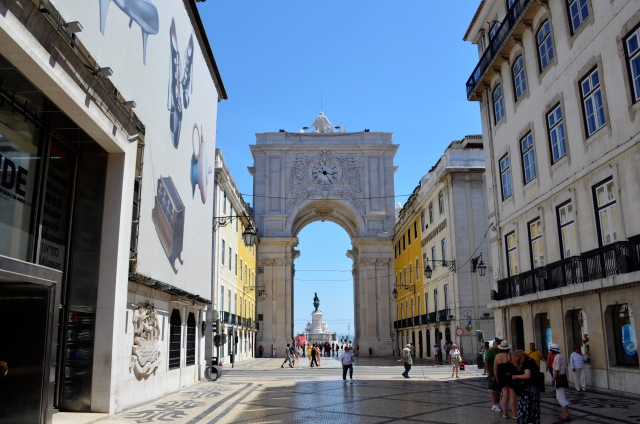 Urlaubsreise Lissabon